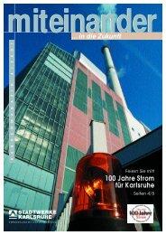 Kirchen(t)räume - Stadtwerke Karlsruhe