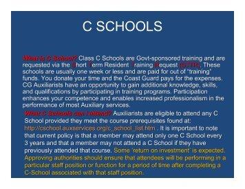 C SCHOOLS - Districtnine.org