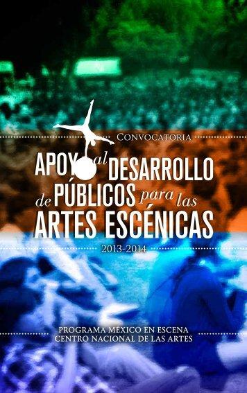 Convocatoria - Centro Nacional de las Artes CENART
