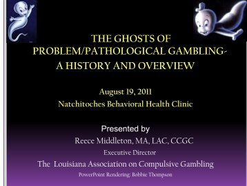 Problem gambling a guide for families antique slot machines