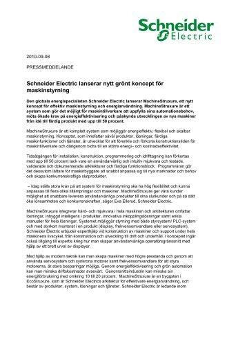 Press Release KAVLICO - Schneider Electric