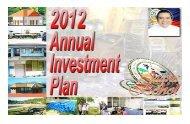 2012 Annual Investment Plan - Jagna