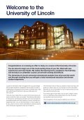 International Student Handbook 2012 - University of Lincoln - Page 3