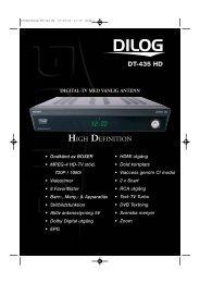 Produktblad DT-435 HD - Dilog