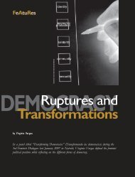 Ruptures and Transformations - Isis International Manila
