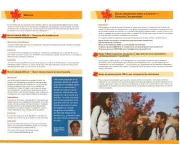 Becas Canadienses para America Latina