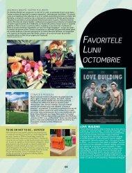 Favoritele lunii octombrie - Diana-Florina Cosmin