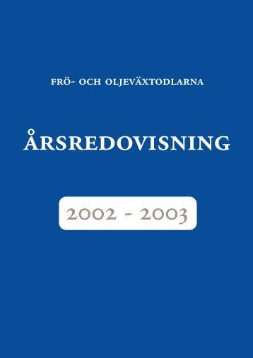 2003 - Svensk Raps