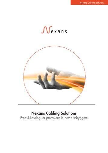 kablingsløsninger - Nexans
