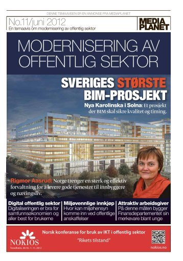SVERIGES STØRSTE BIM-PROSJEKT - Porsgrunn Kommune