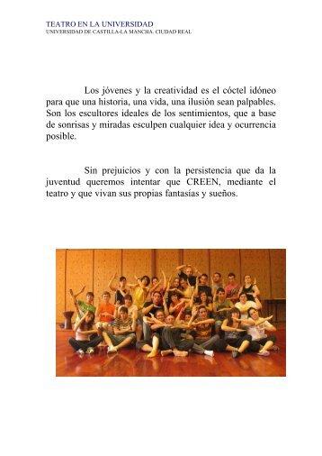 información sobre el proyecto - Universidad de Castilla-La Mancha