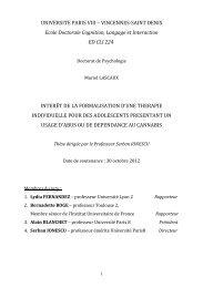 UNIVERSITE PARIS VIII – VINCENNES-SAINT DENIS ... - E-Corpus