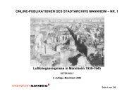 Luftkriegsereignisse in Mannheim 1939-1945 - Stadtarchiv ...