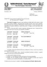 LICEO PEDAGOGICO e DELLE SCIENZE SOCIALI - Liceo Statale C ...