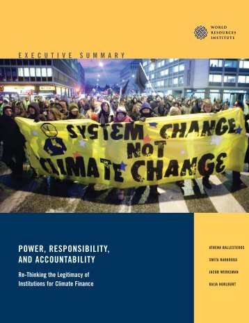 power, responsibility, and accountability - World Resources Institute