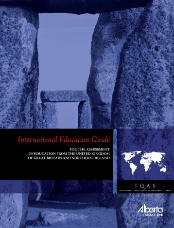 International Education Guide - UK - Enterprise and Advanced ...