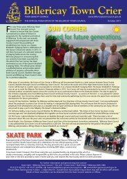 October 2011 Issue - Billericay Town Council