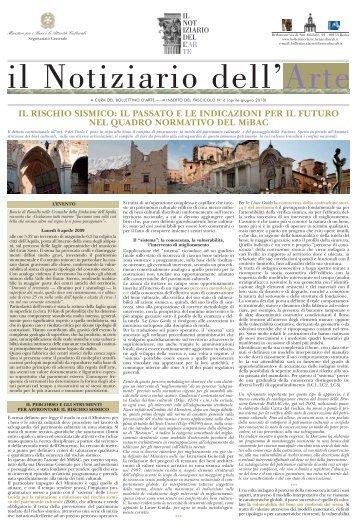 IL RISCHIO SISMICO: IL PASSATO E LE INDICAZIONI PER IL ...