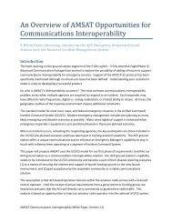 Interoperability Study - Del Mar North