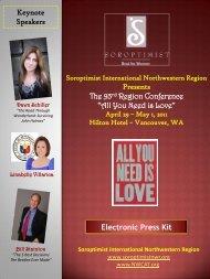 Presents The 93rd Region Conference - Soroptimist International ...