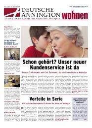 Ausgabe Juni 2009 [ PDF ; 4,0 MB ] - Deutsche Annington