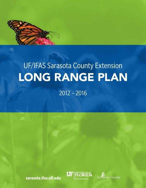 Long Range PLan - Sarasota County Extension - University of Florida