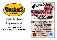 Stadionmagazin 04/2009 Turbine - SV Vinningen - VfB Rotenstein ...