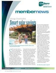 Smart solar savings - CoServ.com