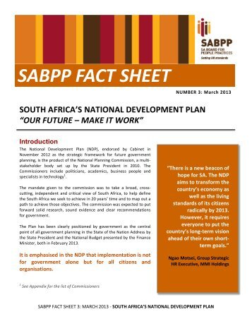 FACT SHEET 3 Mar 2013 NDP.pdf - SABPP