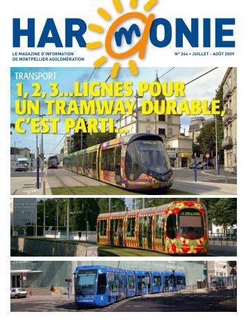 1, 2, 3...lignes pour un tramway durable, c'est parti... - Montpellier ...