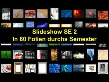 SE2-w11-Zusammenfassung - schmiedecke.info