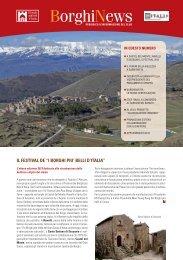 Newsletter Luglio 2013 - I borghi più belli d'Italia
