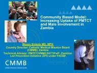 Increasing Uptake of PMTCT and Male Involvement in Zambia