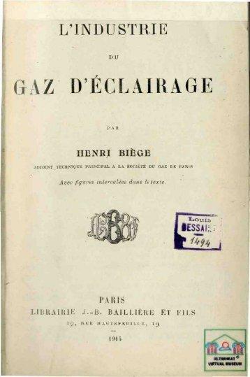 GAZ D'ÉCLAIRAGE - Ultimheat