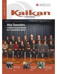 Akio Tamashiro - Asociación Peruano Japonesa
