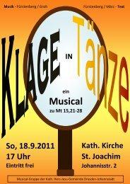 Musical - Herz-Jesu-Kirche