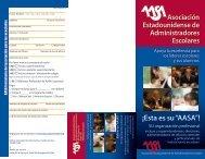 """¡Esta es su """"AASA""""! - American Association of School Administrators"""