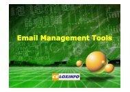 Email Management Tools - CS LoxInfo