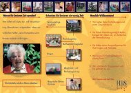 Flyer zum Ehrenamt - Hamburger Blindenstiftung
