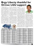 4P's benefits 2T families - City Government of Ormoc - Page 5