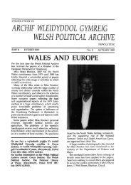 WPA Newsletter 8 - Llyfrgell Genedlaethol Cymru