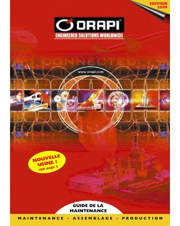 Orapi - Catalogue maintenance - Abrasifs et Outillages
