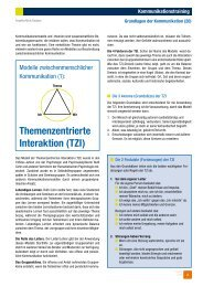 Themenzentrierte Interaktion (TZI)