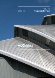 SEC ltd Corporate Review 2010-2011 - SECC