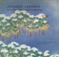 Japanese Ceramics from the Tanakamura Collection - Metropolitan ...