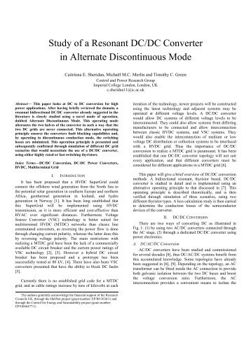 Study of a DC/DC Converter in Alternate Discontinuous Mode