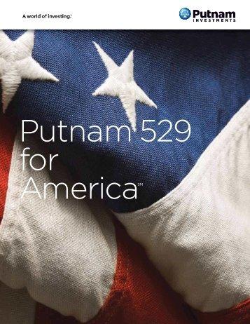 Putnam 529 for America - Putnam Investments