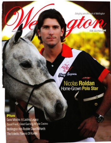 Wellington the Magazine - March, 2009 - Phelps Media Group