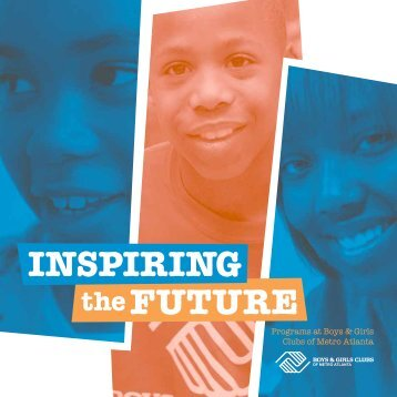 Program Brochure - Boys & Girls Clubs of Metro Atlanta
