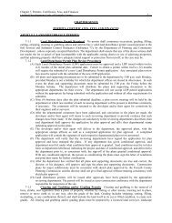 Chapter 7, Permits, Certificates, Fees, and Finances Unified ...